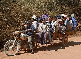 """Public transport"" in Cambodia ;o)"