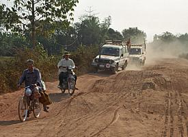 "On ""Highway 5"" through Cambodia"