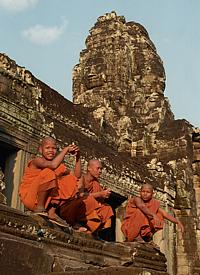 Priest-scholar on the Bayon