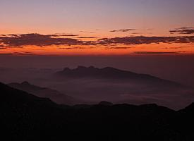 "Dawn from ""Adam's Peak"""